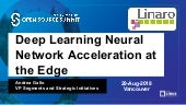 Deep Learning Neural Network Acceleration at the Edge - Andrea Gallo