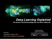 Deep Learning Explained: The future of Artificial Intelligence and Smart Networks