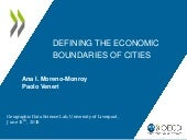 Defining Economic Boundaries of Cities