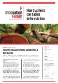 Deforestation management briefing innovation forum august 2015