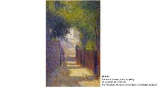 Degas, Toulouse-Lautrec e Seurat