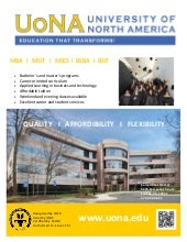 University of North America Degree programs by Study Metro