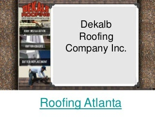 Roofing Atlanta