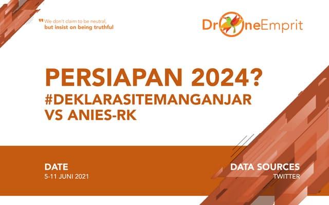 Persiapan 2024: Ganjar, Anies, RK