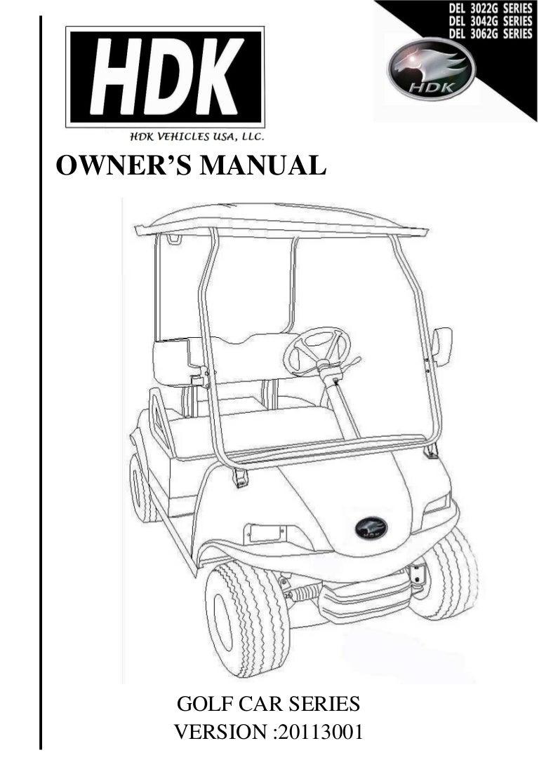 del3022gownersmanual 140521045231 phpapp02 thumbnail 4?cb=1400648066 del3022 g owner's manual hdk golf cart wiring diagram at n-0.co