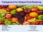 Delayed ripening by anurag patel  2889[svpua&t meerut]