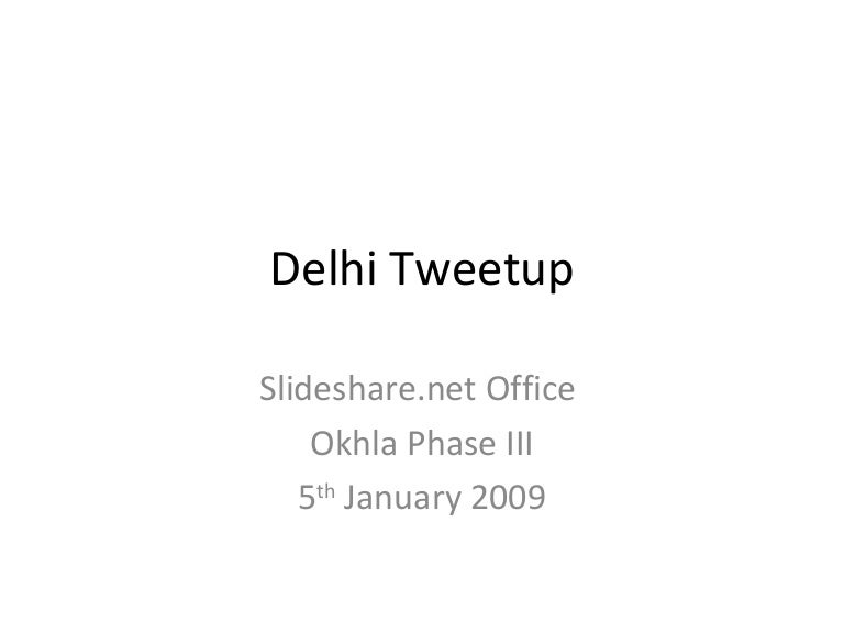 Image result for delhi tweetup