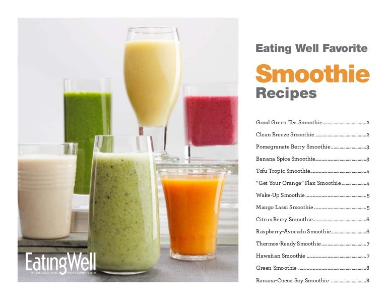 healthy shake recipes 14 delicious and healthy smoothie recipes 12046