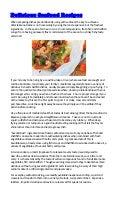 Delicious Seafood Recipes
