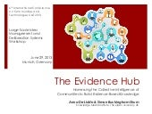The Evidence Hub: Harnessing the Collective Intelligence of Communities to Build Evidence-Based Knowledge