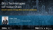 DELL Technologies - The IoT Value Chain - Solutions for the Smart World - Dell EMC IoT Solutions