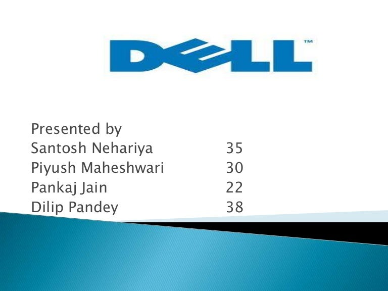 Dell Corporation Strategy