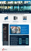 Make room for more virtual desktops with fast storage - Infographic