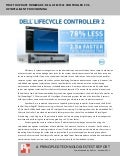 Time to update firmware: Dell Lifecycle Controller vs. HP Intelligent Provisioning