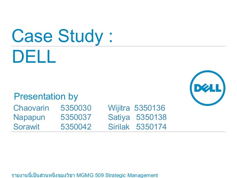 case study dell computer's working capital By any measure, the dell computer corporation's direct sales model is one of the most successful strategic innovations of the past 15 years with the deceptively simple concept of bypassing the retail channel to sell directly to consumers, dell created a model that undercuts its competitors on price.