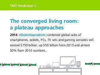 Deloitte TMT Predictions 2014