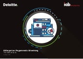 IAB Netherlands - Deloitte Programmatic Advertising 2018 Report