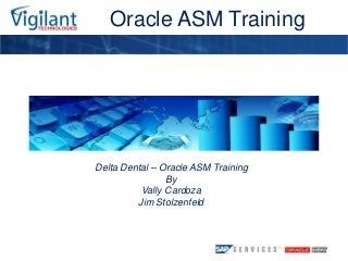Oracle ASM Training