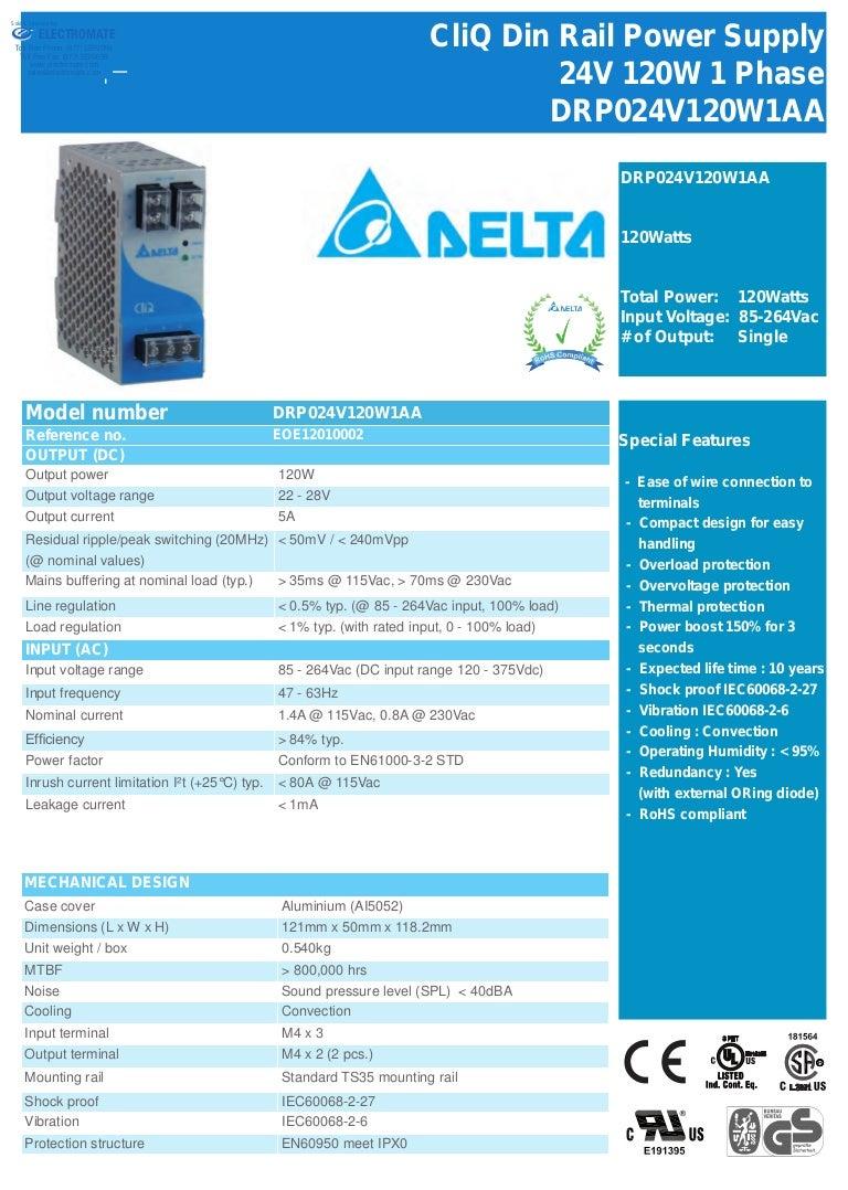 Delta drp024 power_supply_catalog