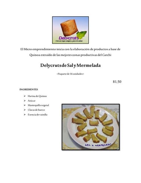 Delycruts de sal y mermelada