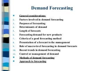 Demand Forecasting | LinkedIn
