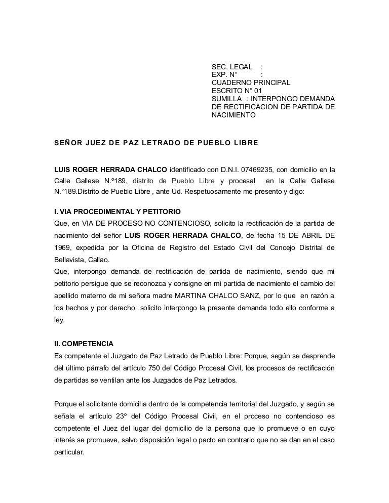 Demanda rectificación de partida.jul.2012.herrada