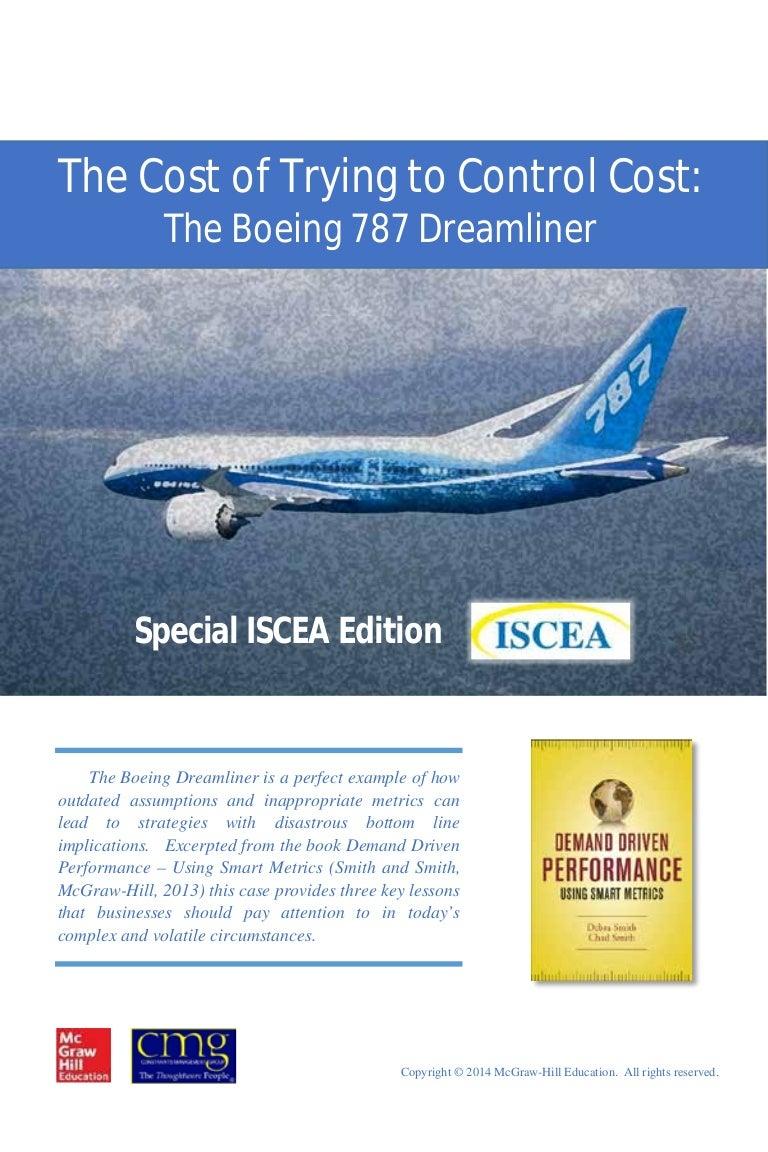 Case analysis boeing     Scribd     A Case Study   The Boeing Dreamliner