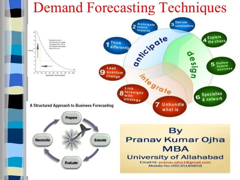 Demand forecasting 12
