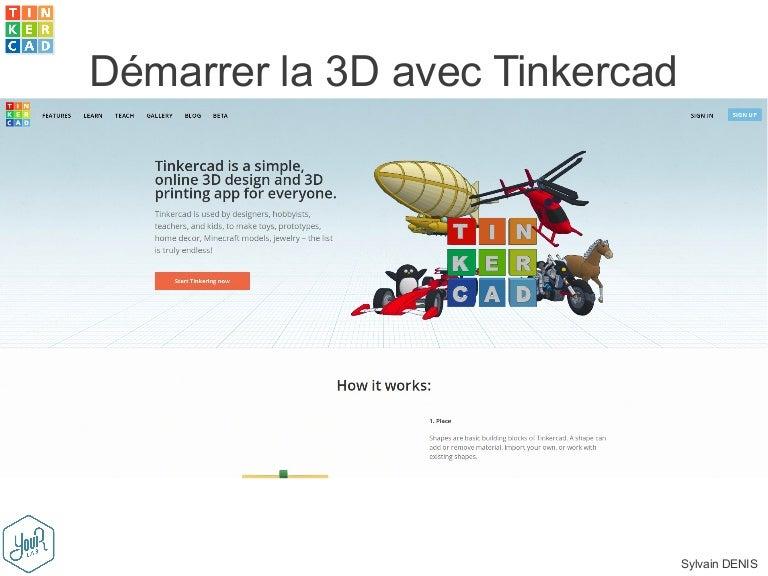 GRATUIT TÉLÉCHARGER TINKERCAD FRANCAIS