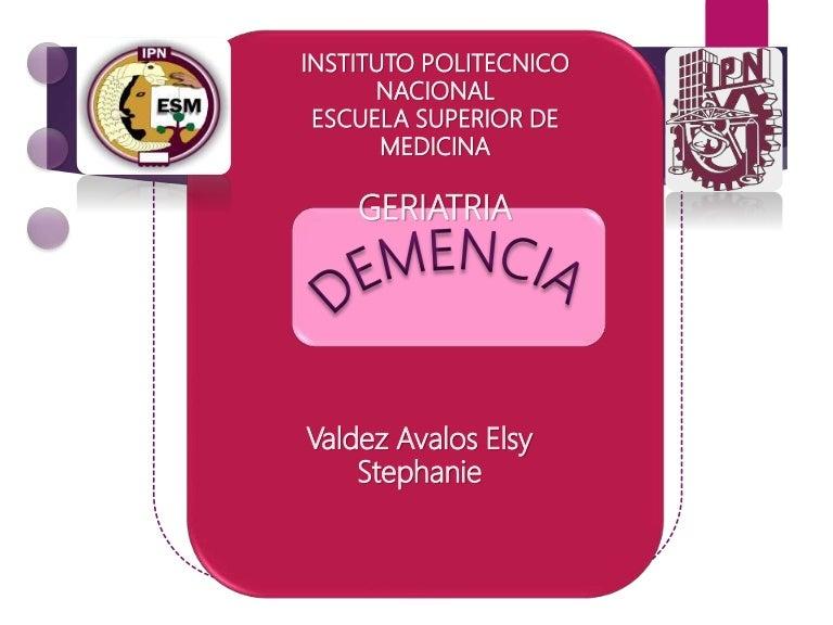hipertóniás demencia