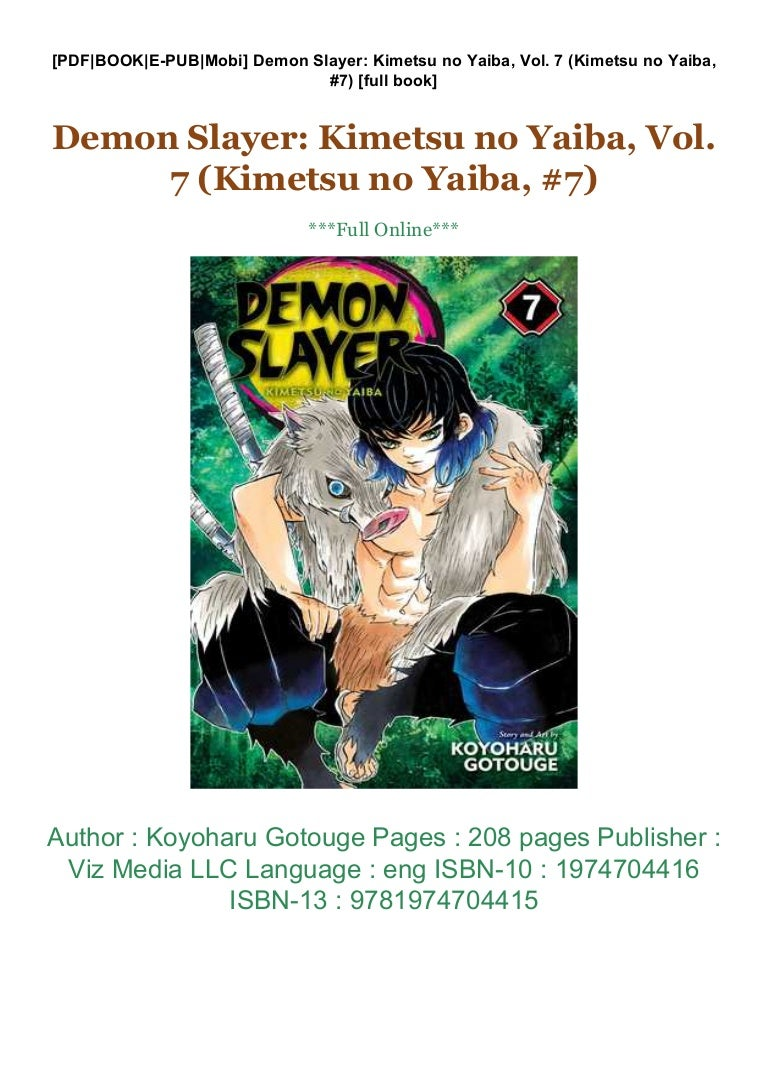 Yaiba Read kimetsu no