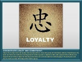 Competency Snapshot: Demonstrates Loyalty and Commitment