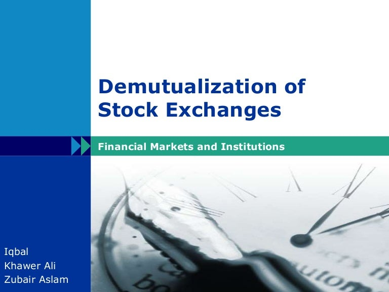 modernisation of stock exchanges 6 we refer here to the 13 equity exchanges, five of which are owned by intercontinental exchange (nyse, nyse arca, nyse american llc, nyse national, inc, and the chicago stock exchange), three of which are owned by nasdaq (nasdaq phlx llc, nasdaq bx, and the nasdaq stock market), and four of which are owned by cboe global markets (cboe byx.