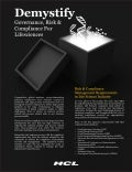 HCLT Brochure: Demystify Governance Risk Compliance for Lifesciences