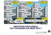 Demystify social media & business benefits 21 apr