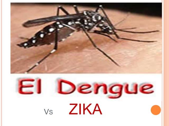 Dengue vs zika
