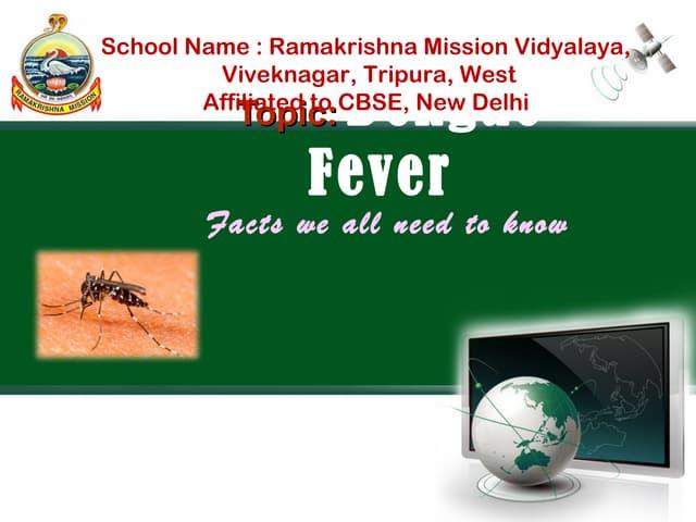 Dengu fever final