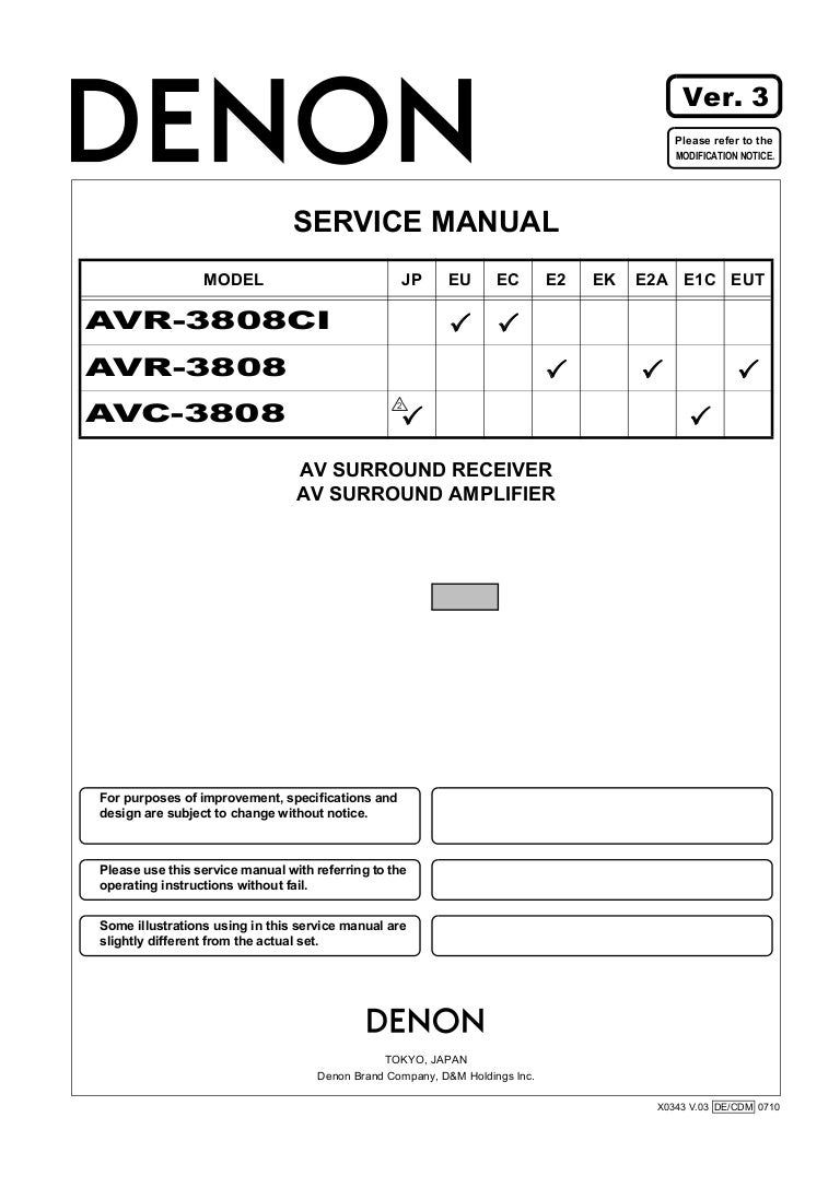 Ebook-7792] denon avr 3808ci service manual | 2019 ebook library.
