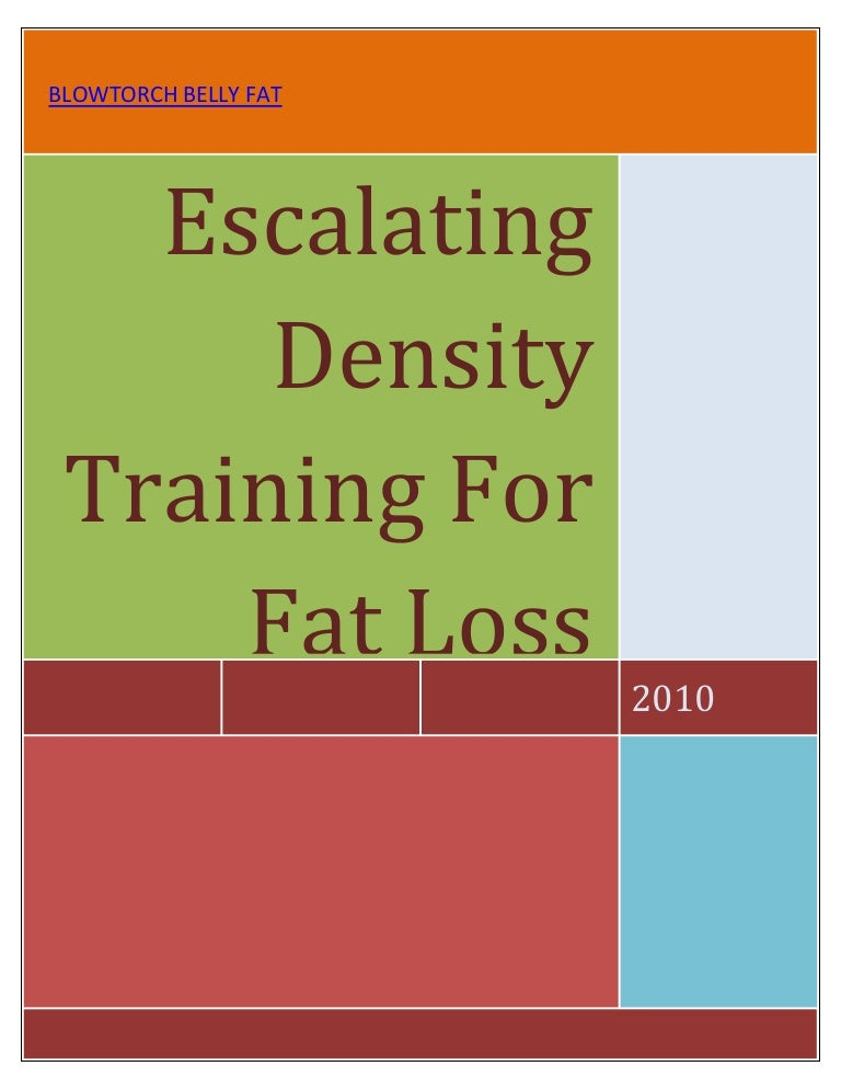 Edt For Fat Loss A New Method