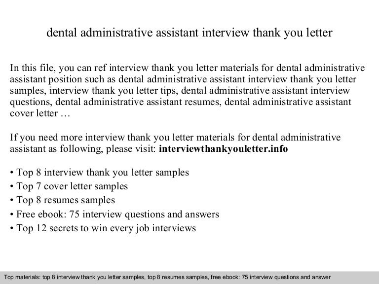 dental administrative assistant - Administrative Assistant Interview Questions Answers