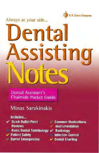 dental surgery assistants handbook