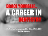 Brace Yourself... A Career in Dentistry