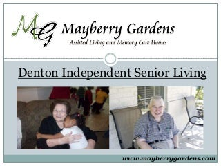 Denton Independent Senior Living