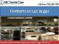 Dentures in Las Vegas at ABC Dental Care By Dr. Kevin Khorshid