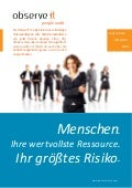 ObserveIt Brochure- German