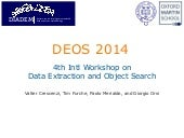 Deos 2014 - Welcome