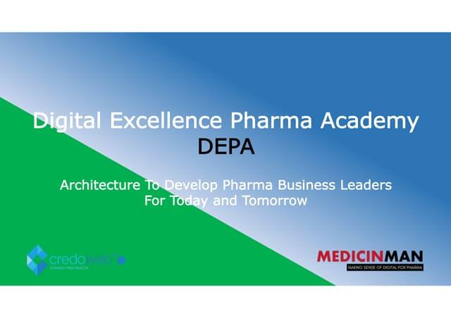 Digital Excellent Pharma Academy Certification Program