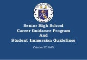 Deped career immersion