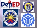 DepEd, CHED and TESDA