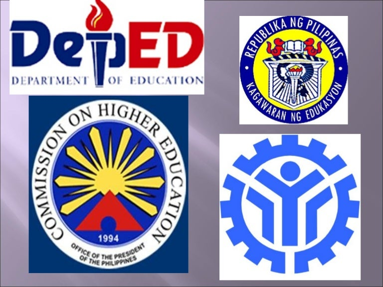 DepEd CHED And TESDA
